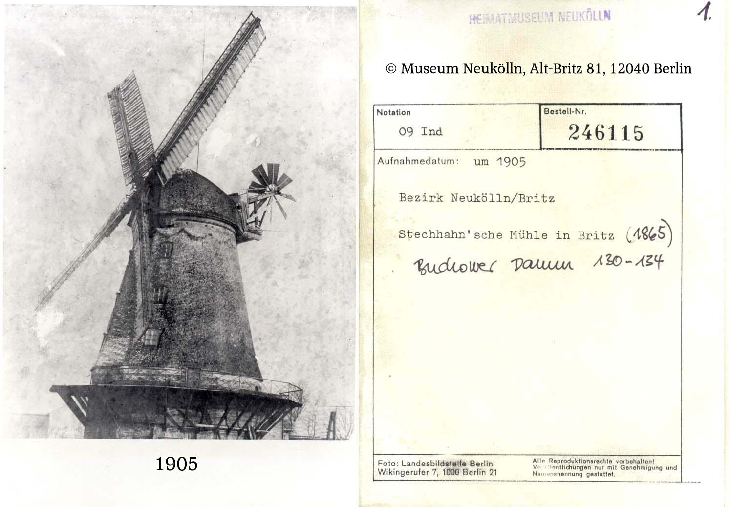Stechhan`sche Mühle in Britz
