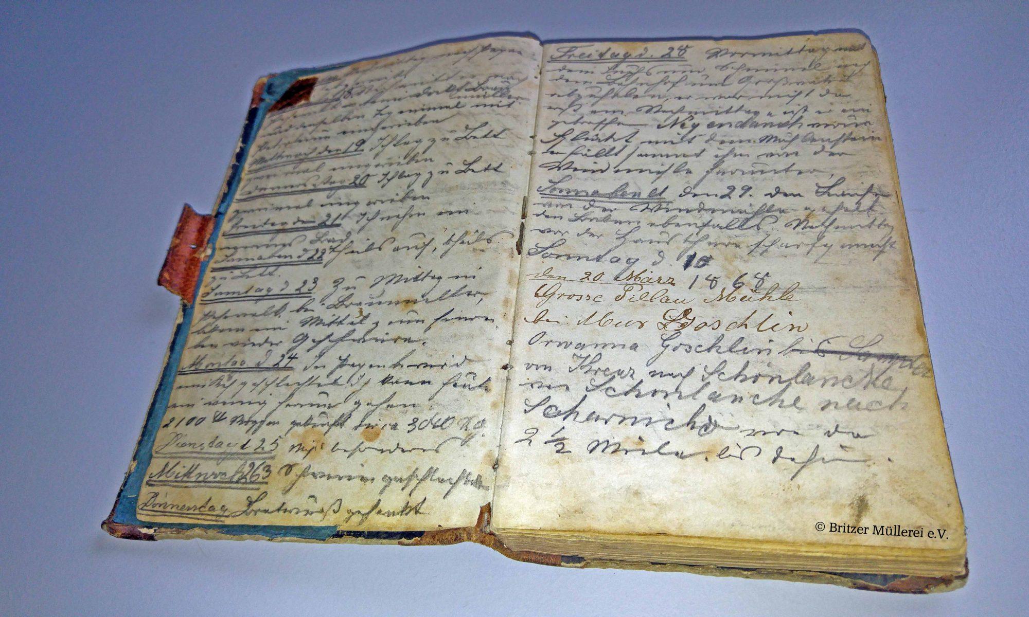 Tagebuch von Albert Stechhan