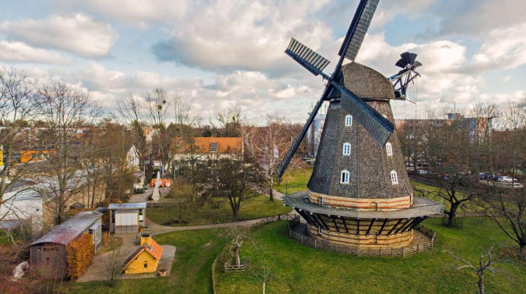 Britzer Mühle zum Neujahr 2019